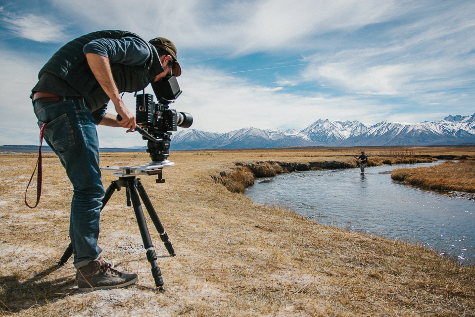 Zangs Films - RED Epic Dragon - Trost M-Series Slider - Owens River