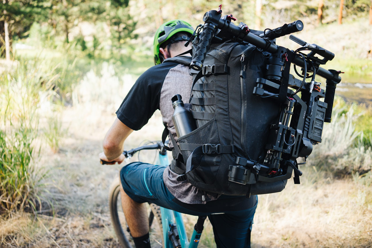 Our Land - Traversing Oregon - Zangs Films - BTS - DJI Ronin and RED Epic Dragon in Backpack - Jason Fitzgibbon