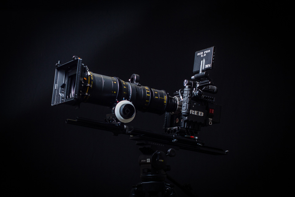 Zangs Films RED Epic Dragon Camera and Century 150-600mm Lens